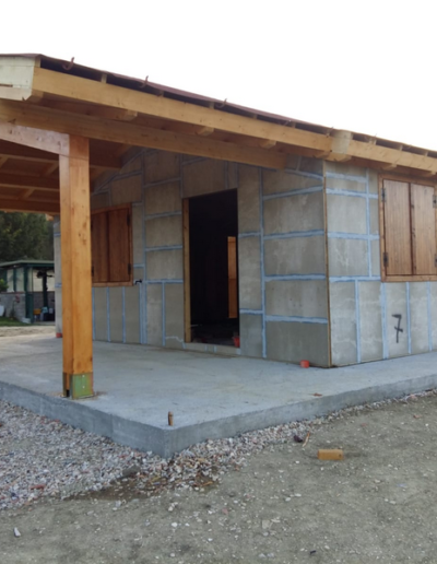 Bgl case legno Casa con pergolato (10)