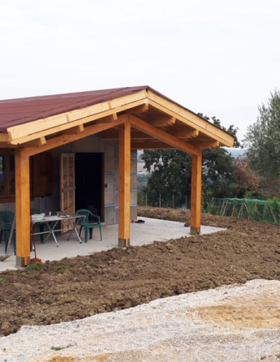 Bgl case legno Casa con pergolato (13)