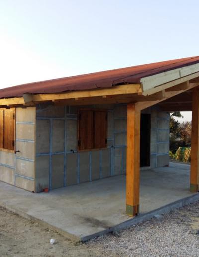 Bgl case legno Casa con pergolato (4)