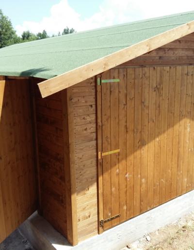 Bgl case legno Garage in legno