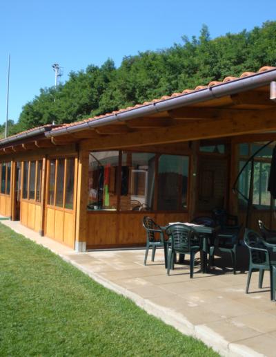 Bgl case legno bar ristoro a bolzena