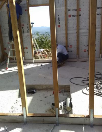 Bgl case legno casa con garage in bio edilizia siena