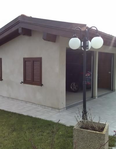 Bgl case legno garage in bioedilizia