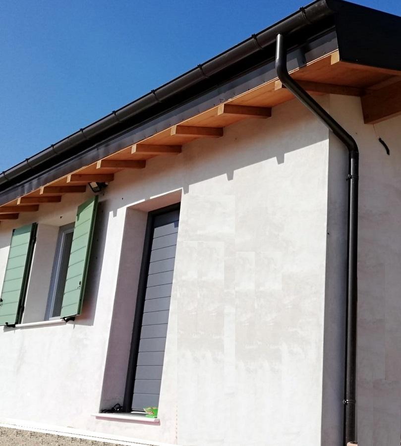 Esterni casa bioedilizia residenziale BGL Spoleto